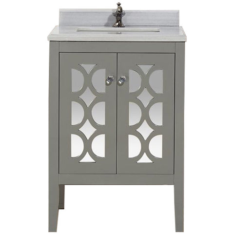 "Mediterraneo Collection 24"" Vanity with Countertop"