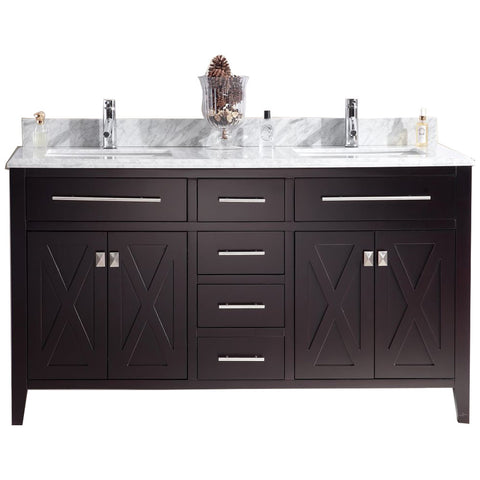 "Wimbledon Collection 60"" Vanity with Countertop"