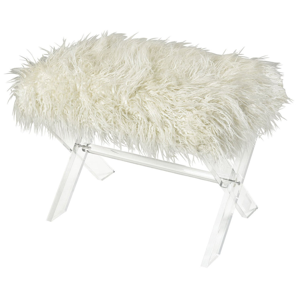 Zsa Zsa Bench in White