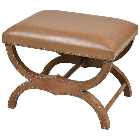 Bridle Single Bench in Brown