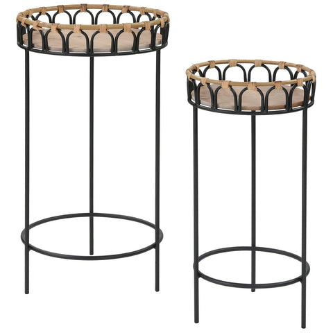 Fisher Island Accent Tables (Set of 2)