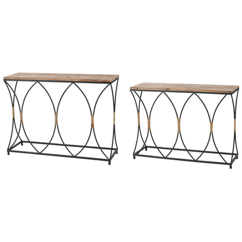 Fisher Island Console Tables (Set of 2)