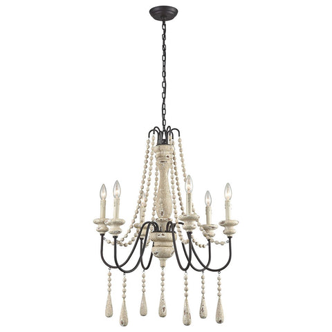 Sommieres 6-Light Chandelier - Small