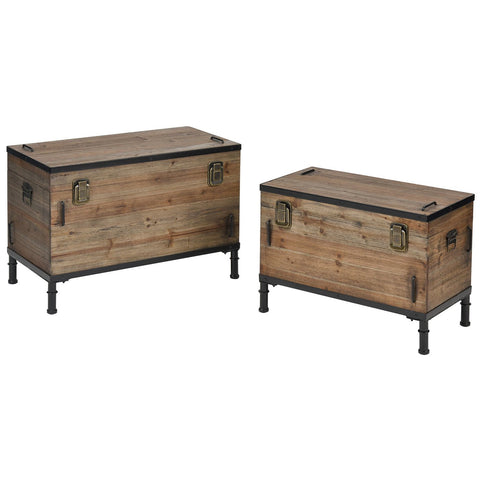 Polo Storage Chests (Set of 2)