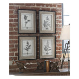 Casual Grey Study Framed Art, Set of 4