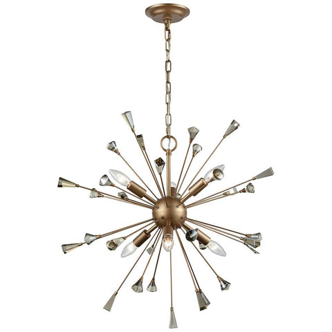 Sprigny 6-Light Chandelier with Crystal