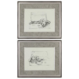 Stowaway Dog Prints Set of 2