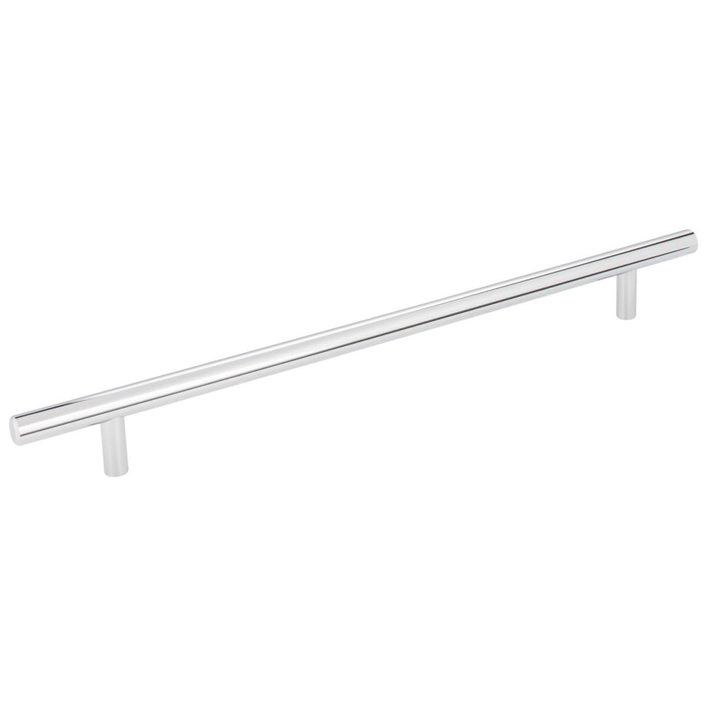 "Elements Naples 13-1/4"" Overall Length Bar Cabinet Pull with Beveled Ends"