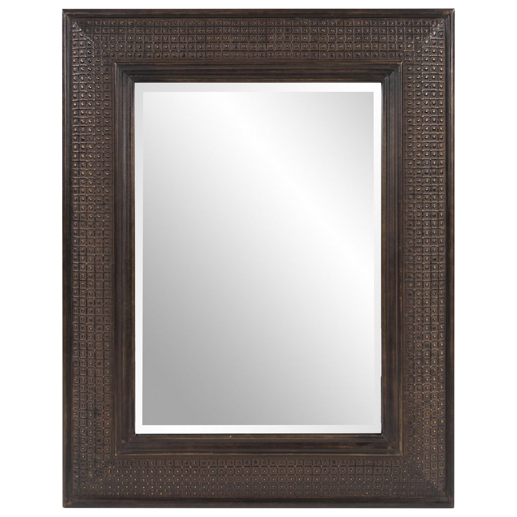 Grant Antique Brown Mirror