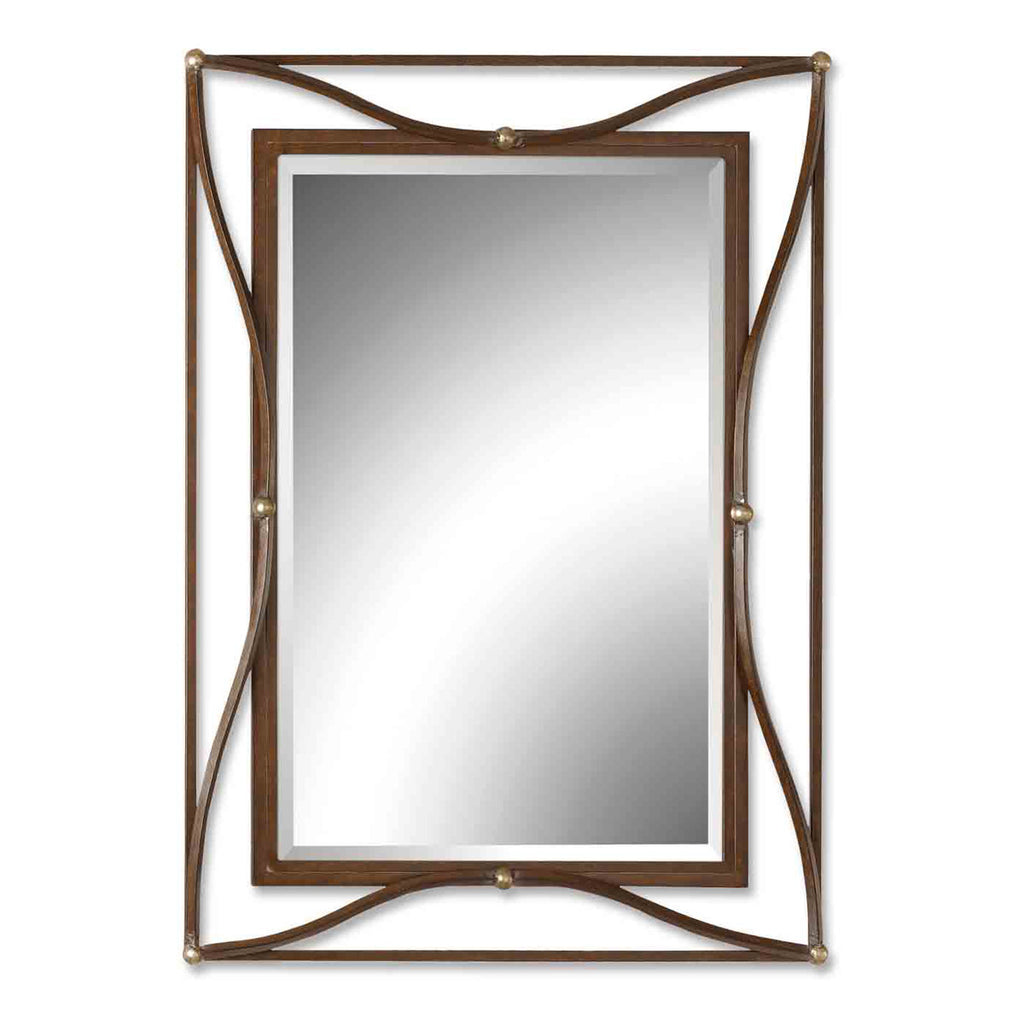 Thierry Bronze Mirror