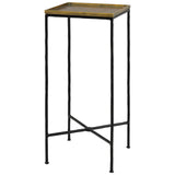 Boyles Drinks Table, Brass