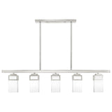 Harding 5-Light Linear Chandelier