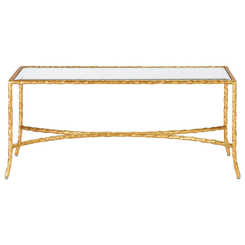 Gilt Twist Rectangular Table