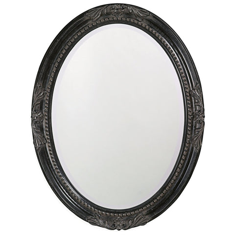 Queen Ann Antique Black Mirror