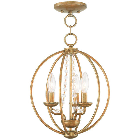 Arabella 3-Light Convertible Mini Chandelier