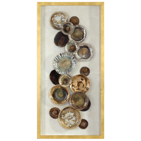 Uttermost Myla Antique Plate Shadow Box