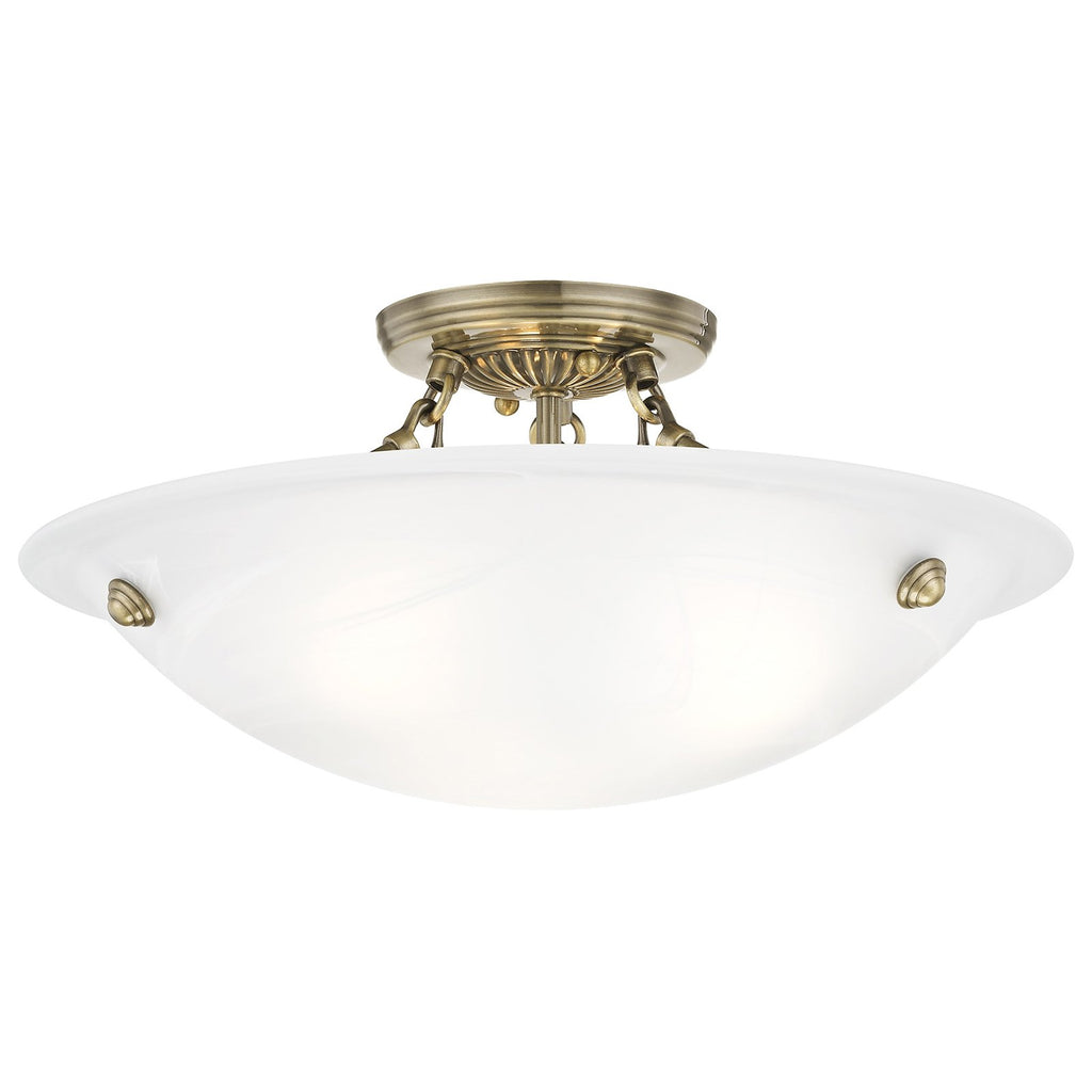 Oasis 3-Light Ceiling Mount