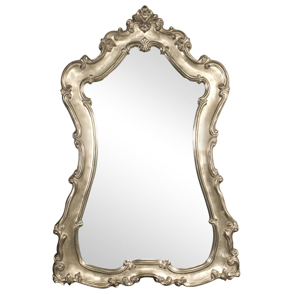 Lorelei Mirror in Silver