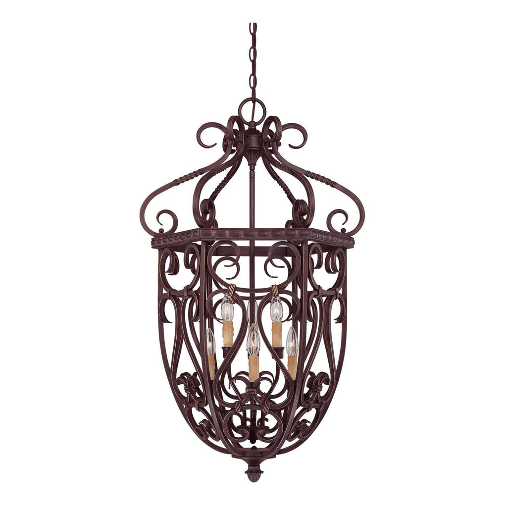 "Bellingham 21"" 6-Light Cage Foyer"
