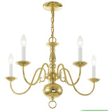 Williamsburgh 5-Light Chandelier