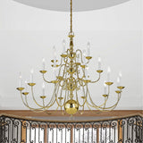 Williamsburgh 22-Light Chandelier