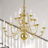 Williamsburgh 20-Light Chandelier