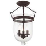 Jefferson 3-Light Ceiling Mount