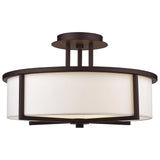 Wesley 3-Light Ceiling Mount