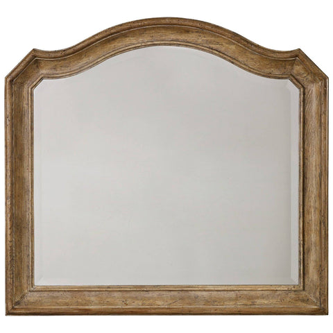 Solana Mirror in Light Wood