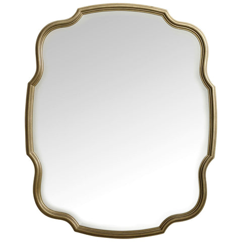 Skyline Portrait Mirror in Gold
