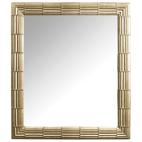 Skyline Textured Mirror in Gold