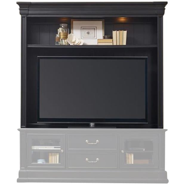 Clermont Entertainment Console Hutch in Black