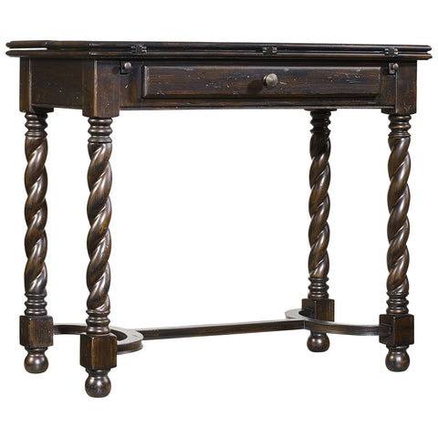 Treviso Flip-Top Accent Table in Black