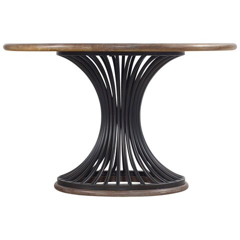 Studio 7H Round Dining Table in Light Wood