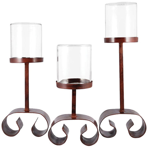 Tanner Lighting Candle Holders, Set of 3