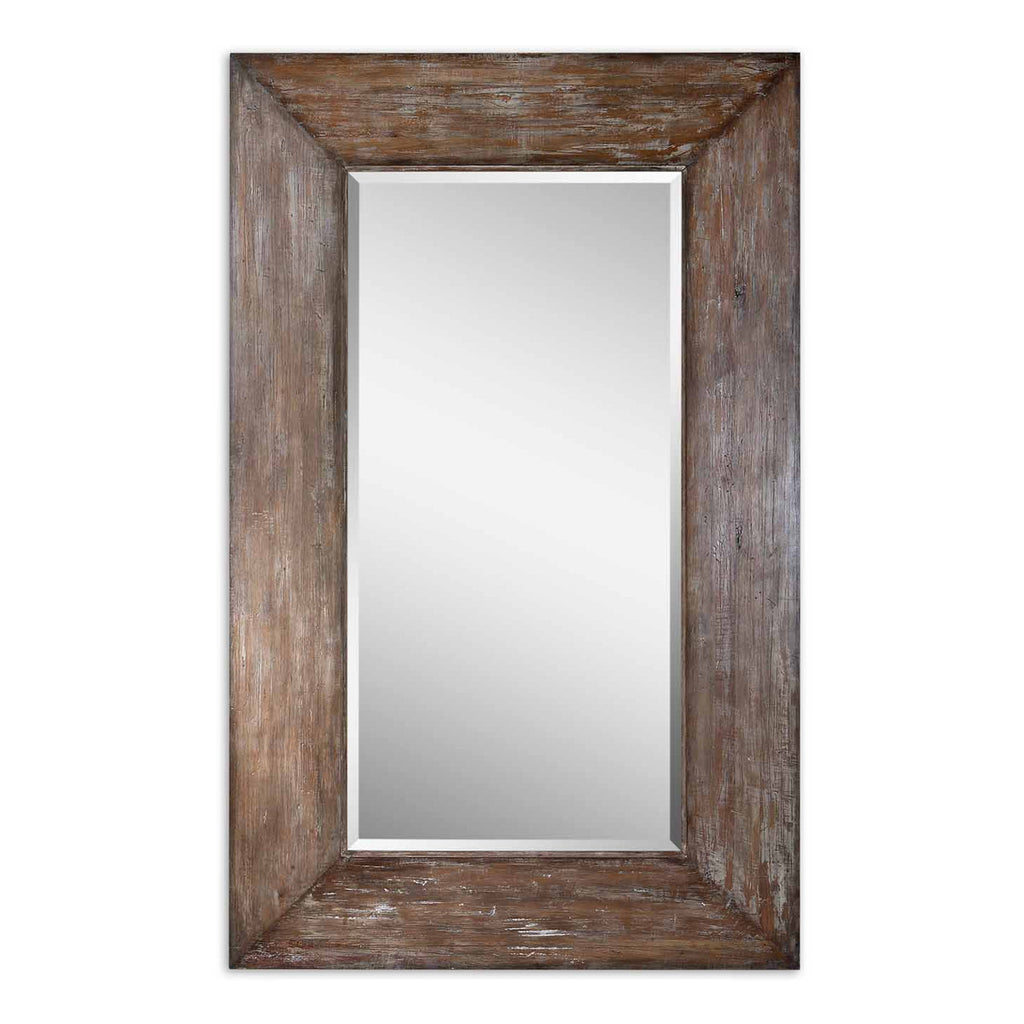 Langford Large Wood Mirror