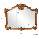 Avondale Bright Gold Mirror