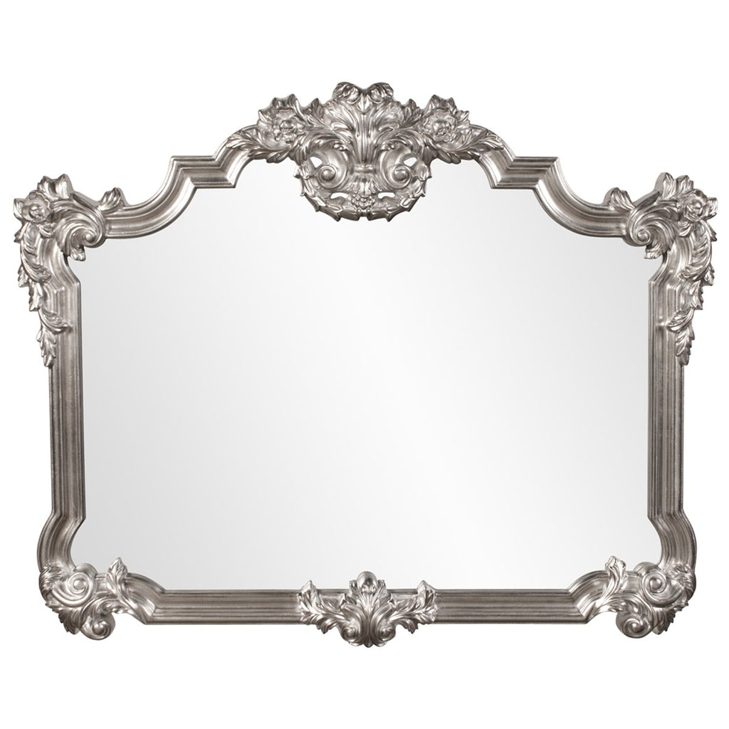 Brighton Bright Silver Leaf Mirror