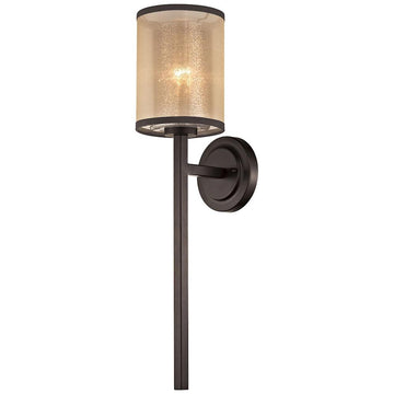 Diffusion 1-Light Wall Sconce in Oil Rubbed Bronze