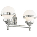 Oldwick 2-Light Bath Vanity - Polished Chrome