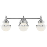 Oldwick 3-Light Bath Vanity - Polished Chrome