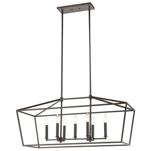 Fairfax 7-Light Linear Chandelier