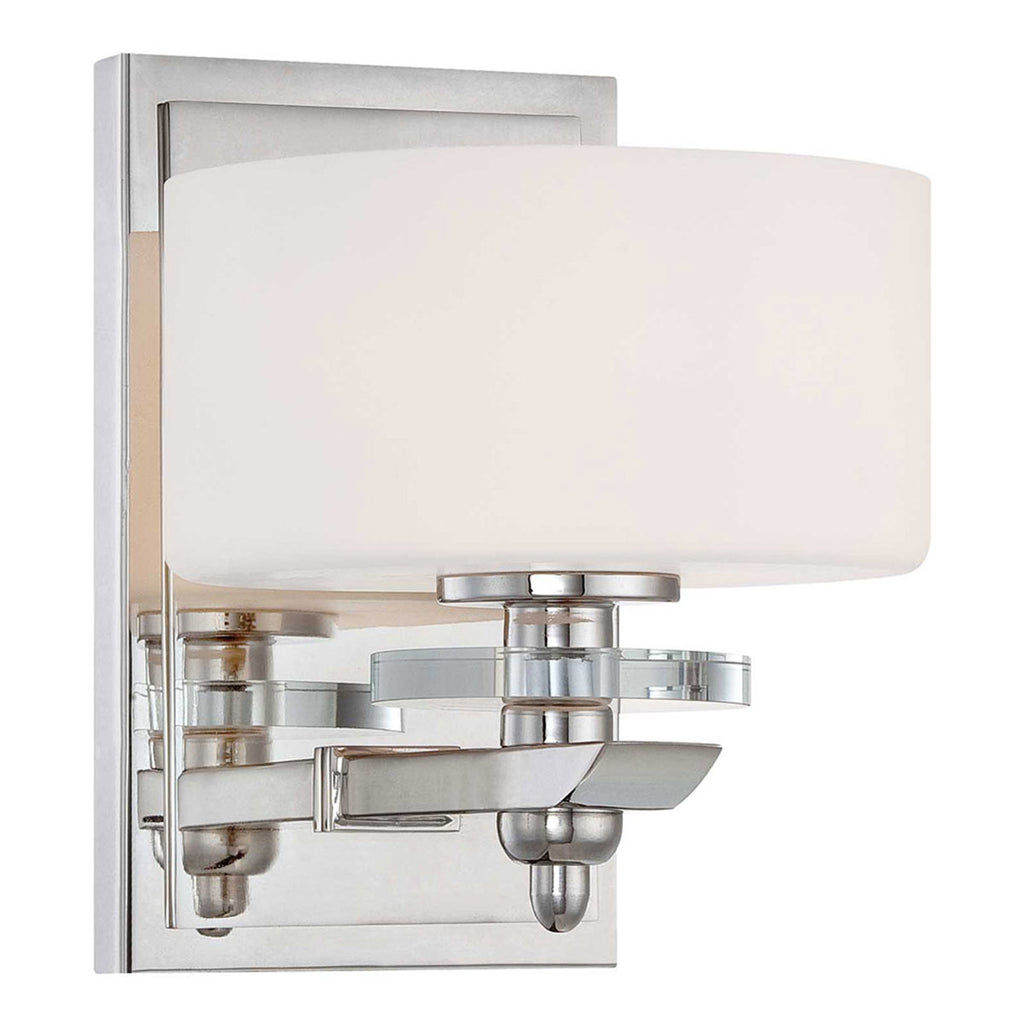 Oneida Polished Nickel Sconce