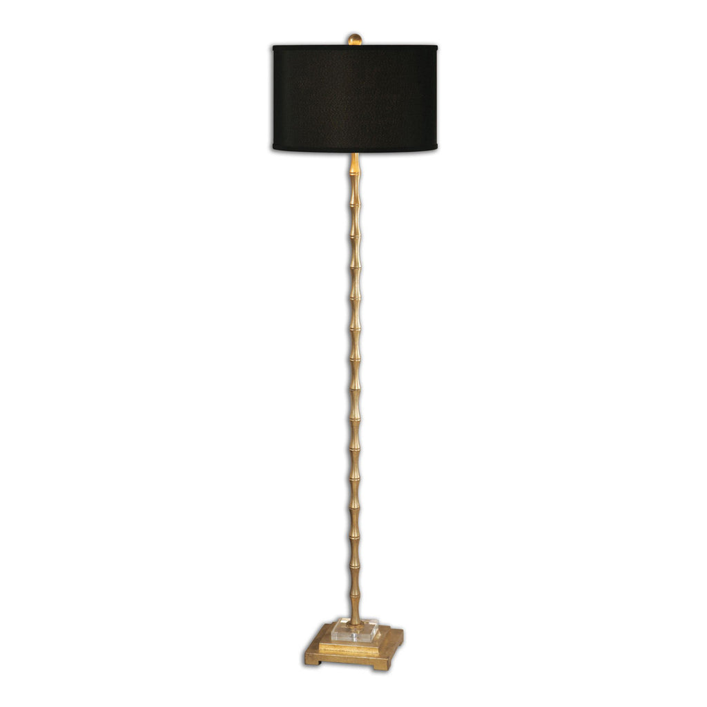 Quindici Metal Bamboo Floor Lamp