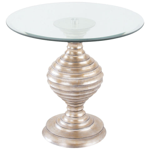 Linea Table in Silver Leaf