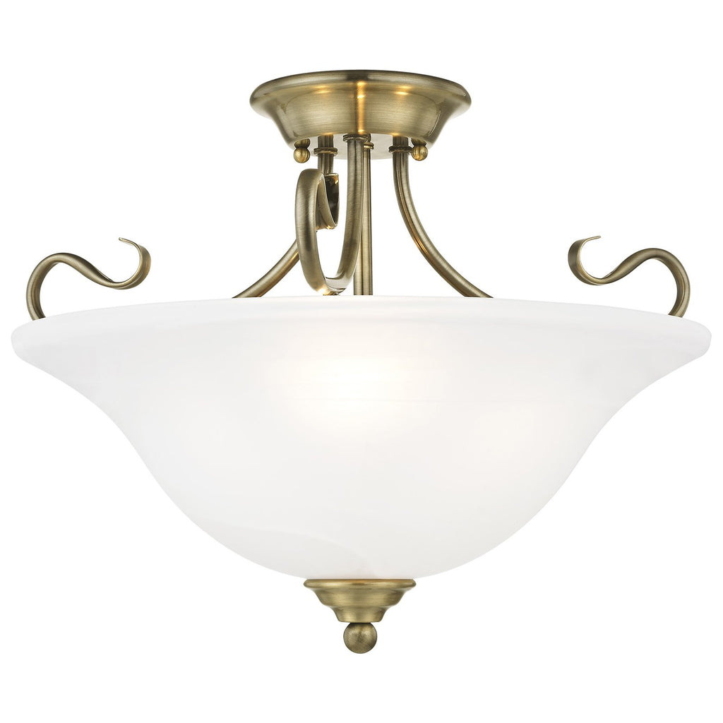 Coronado 3-Light Ceiling Mount