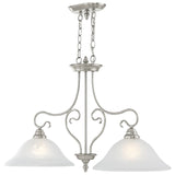 Coronado 2-Light Island Chandelier