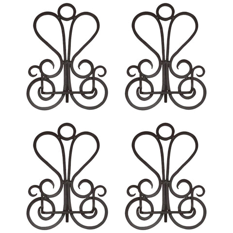 Paisley Easels 13-Inch, Set of 4