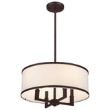 Park Ridge 4-Light Pendant Chandelier - Bronze