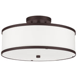 Park Ridge 3-Light Round Ceiling Mount